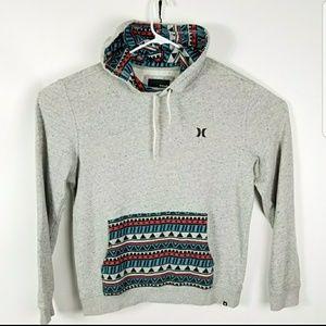 Hurley Hoodie Hooded Sweatshirt Burn out Size Med